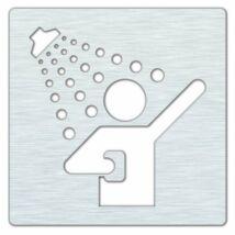 HP zuhany tábla