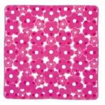 Aqualine csúszásmentes betét zuhanyfülkébe, rózsaszín