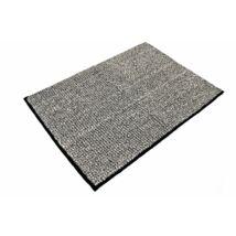 Aqualine fürdőszobai szőnyeg csúszásgátlóval, fekete