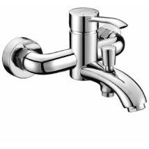 LUKA kádtöltő csaptelep zuhanyszett nélkül, króm