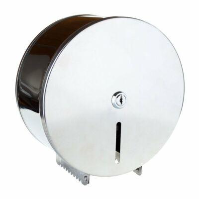 Rolnis wc papírtartó fényes inox