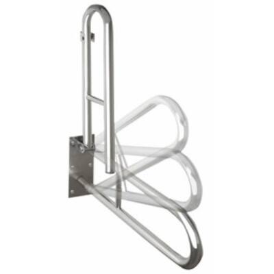 Disable kapaszkodó, felnyitható 600mm, inox