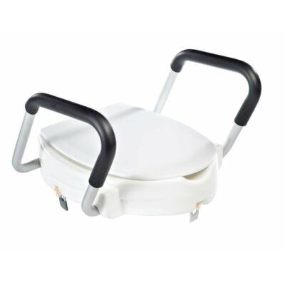 Magasított wc ülőke 100 mm , kapaszkodóval