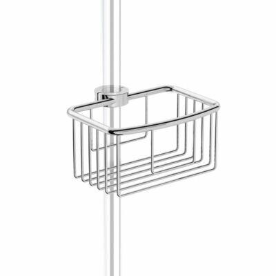 Smart állítható polc zuhanyoszlopra vagy rúdra 18,20 és 22 mmátmérőre