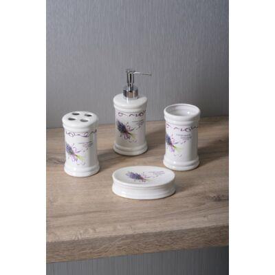 Lavender fogkefe tartó