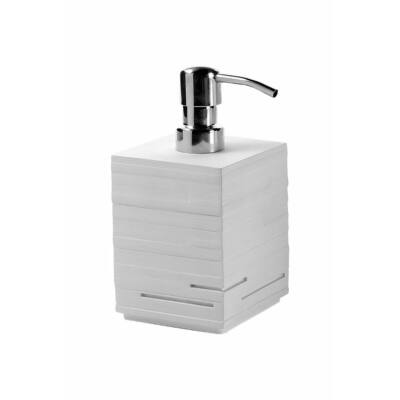 Quadrotto szappanadagoló, fehér, 430 ml