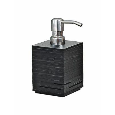 Quadrotto szappanadagoló, fekete, 430 ml