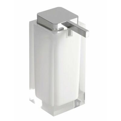 Rainbow szappanadagoló, fehér, 240 ml