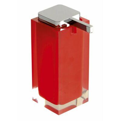 Rainbow szappanadagoló, piros, 240 ml