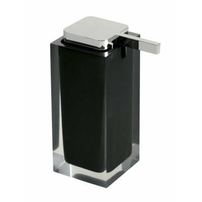 Rainbow szappanadagoló, fekete, 240 ml