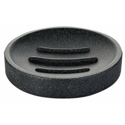 Stone szappantartó, fekete