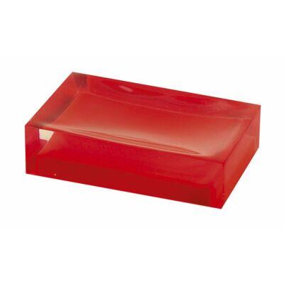 Rainbow szappantartó, piros