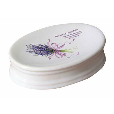 Lavender szappantartó