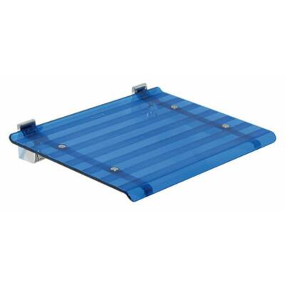 Leo zuhanyülőke, lehajtható, kék