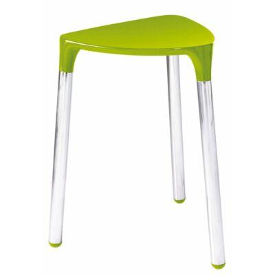 Yannis fürdőszobai ülőke, zöld