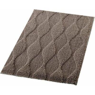 Orient kilépő szőnyeg, csúszásmentes 55x50, barna
