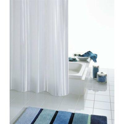 Ridder Satin fehér zuhanyfüggöny 180x200 cm, rövidíthető