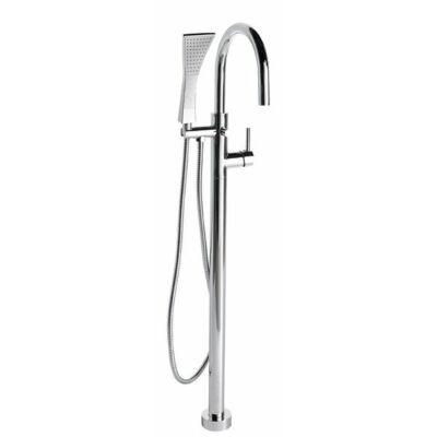 Rhapsody térben álló kádtöltő csaptelep zuhanyszettel