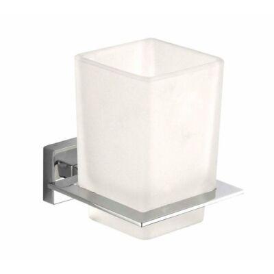 Falra szerelhető pohár, tejüveg