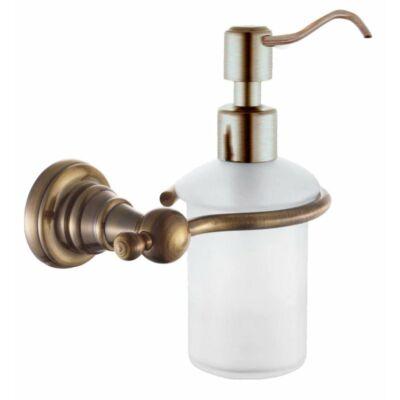 Diamond szappanadagoló 200 ml, bronz