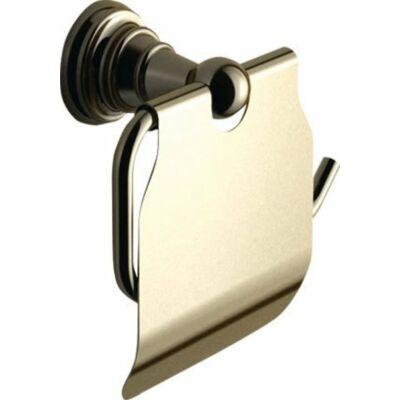 Diamond wc papírtartó bronz , fedéllel