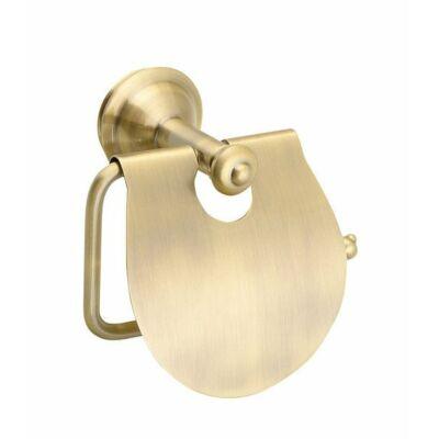 Astor wc papírtartó fedéllel, bronz