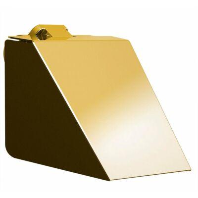 Soul wc papírtartó fedéllel, arany